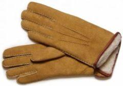 Bernardino lamswollen handschoenen M 8.5 kleur beige