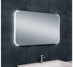 Saqu Round Spiegel met LED 100x60 cm