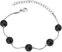 Cilla Jewels Dames Armband met Synthetische Parels Zilver