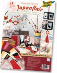 Folia Knutsel Papierpakket Japan A040074 - met origami vouwblaadjes