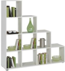 Witte FD Furniture Open Boekenkast Mega 2 - Wit