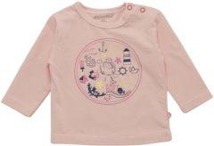 Minymo - meisjes shirt - model Fida anker - roze - Maat 68