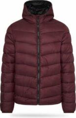 Pierre Cardin - Heren Jas winter Padded Jacket - Rood - Maat M