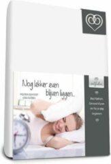 Witte Bed-Fashion Molton hoeslaken comfort 200 x 200 cm