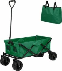 TecTake - opvouwbare handkar Heidrun groen