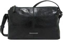Zwarte Claudio Ferrici Pelle Vecchia Crossbag Black 22050