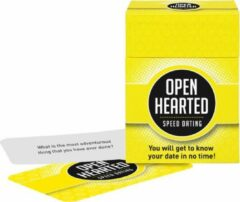 Open Up! Openhearted Speed Dating (Engelstalige variant van Openhartig Dating)