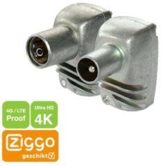 Technetix Set coax-pluggen 4G/LTE-Proof [ZIGGO geschikt] - Technetix