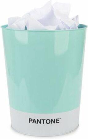 Afbeelding van Balvi Prullenbak Pantone Turquoise Tin 26 x 22 x 17 cm