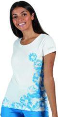 Regatta - Women's Breezed Graphic T-Shirt - Outdoorshirt - Vrouwen - Maat 36 - Wit