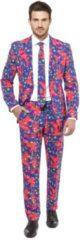 OppoSuits The fresh prince pak met print en stropdas