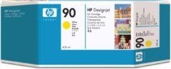 Gele HP 90 - Inktcartridge / Geel / 400 ml (C5065A)