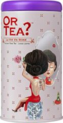 Or Tea? La Vie en Rose zwarte thee roos losse thee - 75 gram