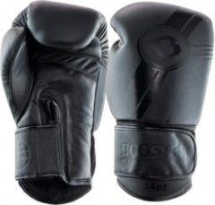 Zwarte Booster (kick)bokshandschoenen V3 Dark-Side 10oz