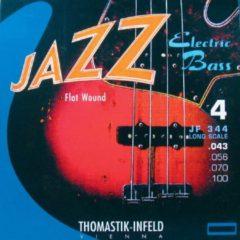 Thomastik-Infeld E-basgitaarsnaren Jazz Bass Flat Wound