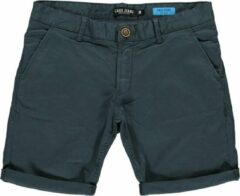 Antraciet-grijze Cars Jeans Cars TINO SHORT COTT.STR ANTRA heren casual short antraciet