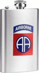 Fostex Zakfles/heupflacon RVS 150ml - 82nd Airborne