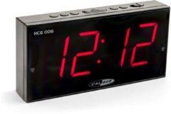 Caliber Wekker Met Groot Display - Zwart (HCG006)