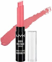 Roze NYX Professional Makeup NYX High Voltage Lipstick - 01 Sweet Sixteen