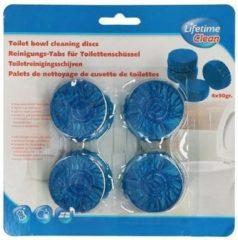 2clean Toiletblokjes Blauw tbv Geberit Toiletblokhouder (4 Stuks)