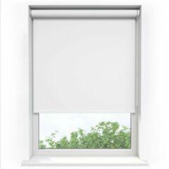 Sunsta Rolgordijn Verduisterend Wit - 60 x 190 cm - Inkortbaar
