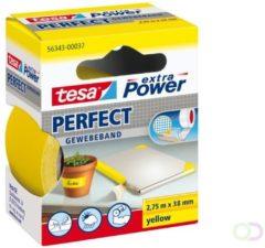 Tesa tesa Extra Power Textieltape Geel (l x b) 2.75 m x 38 mm Rubber Inhoud: 1 rollen