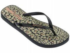 Zwarte Ipanema Animal Print dames slippers