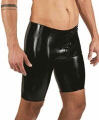 Zwarte MisterB Mister b rubber fucker shorts black small