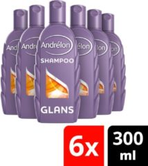 Andrélon Classic Glans Zomer Tarwe Shampoo - 6 x 300ml - Voordeelverpakking