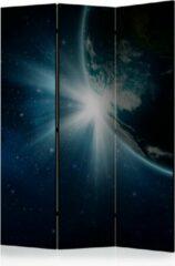 Beige Kamerscherm - Scheidingswand - Vouwscherm - Earth [Room Dividers] 135x172 - Artgeist Vouwscherm