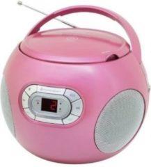 Soundmaster SCD2120PI Radio/CD-speler FM AUX, CD Roze