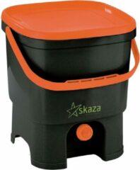 Skaza Compostemmer Organko 26 X 32 X 38 Cm Pp Zwart/oranje