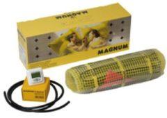 Gele Magnum Millimat elektrische vloerverwarming 600 watt, 4,0 m2 met klokthermostaat 200805