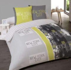 Groene 123slapen 123 slapen 2-Persoonsdekbedovertrek NY Wave 240x220 cm