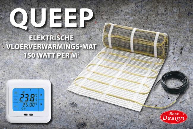 Afbeelding van ADW Designs Vloerverwarming Best Design Cheap Elektrische Vloerverwarmingsmat 10m2 (150 Watt)