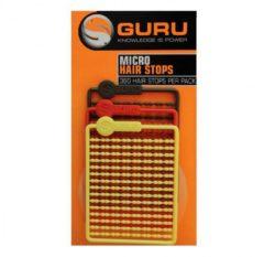 Rode Guru Micro Hair Stops - Boiliestoppers - Bruin / Rood / Geel