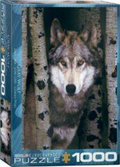 Eurograph Puzzel 1000 stukjes Wolf