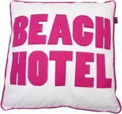 In The Mood Kussen Beach Hotel 50 x 50 cm - Div Kleuren - 2 stuks - Fuchsia