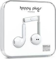 Happy Plugs Earbud Plus - In-ear oordopjes - Wit