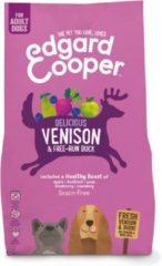 Edgard-Cooper Edgard&Cooper Delicious Venison Adult Hert&Eend&Appel - Hondenvoer - 2.5 kg Graanvrij