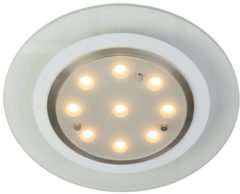 Transparante Steinhauer Ceiling - Plafondlamp - LED - Staal - Vierkant