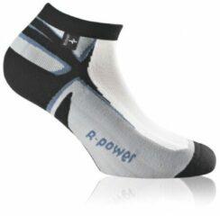Grijze Rohner - R-Power L/R - Sokken maat 44-46 - XL grijs/zwart/wit