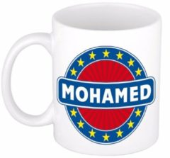 Shoppartners Namen mok / beker - Mohamed - 300 ml keramiek - cadeaubekers