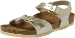 Gouden Birkenstock Cl Rio Electric Metallic Gold narrow Electric Metallics - 27