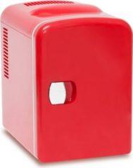 Relaxdays Mini Kühlschrank rot 4 Liter