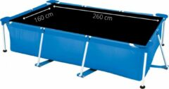 Comfortpool Pro - Solarzeil/Afdekzeil Rechthoekig Zwembad - Geschikt voor zwembaden van 260 x 160 cm - Zwart