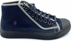 Donkerblauwe G-Star RAW G-Star Rovulc Arog Mid- Sneakers heren- Maat 41