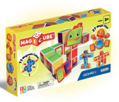 Blauwe Selecta Spel en Hobby Geomag MagiCube Robots - 38 delig