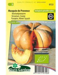 Sluis Garden Muskaatpompoen biologische zaden - Musquée de Provence