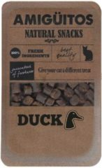 Amiguitos Cat Snack Duck - Kattensnack - 100 g